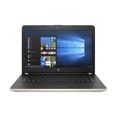 HP 14-bs006TU Notebook - Gold [14 inch/N3060/4GB/500GB/Win 10]
