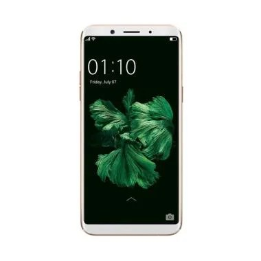 Oppo F5 Smartphone - Gold [32GB/4GB] + Free Tongsis