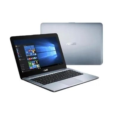 ASUS X441NA BX402-T Laptop Silver R ... DAN BONUS TAS LAPTOP ASUS