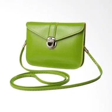 Lansdeal Fashion Zero Purse Leather ... n Sling Bag - Light Green