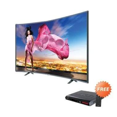 Ichiko S3998 Curve Basic Televisi L ... + Free Set Top Box DVB T2