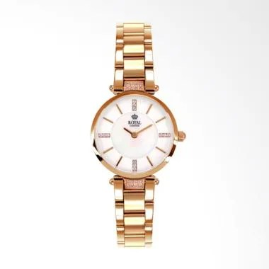 Royal London RL 21355-04 Stainless Steel Jam Tangan Wanita - Rose Gold