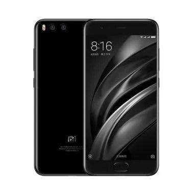 Xiaomi Mi 6 Smartphone - Black [128GB/6GB] Free Tempered Glass