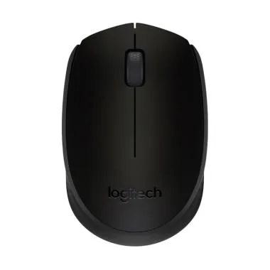 Logitech M170 Mouse Wireless - Hitam