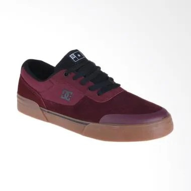 DC Switch Plus S M Shoe Sneakers Pria - Maroon [ADYS300399-MAR]