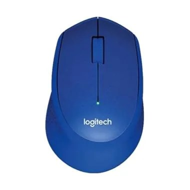 Logitech M331 Wireless Mouse - Blue