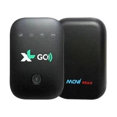 MoviMax MV003 XL Go MiFi Modem - Black