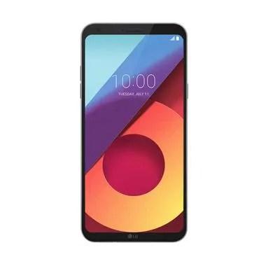 LG Q6 Smartphone - Platinum [32GB/ 3GB] - GARANSI RESMI LG INDONESIA