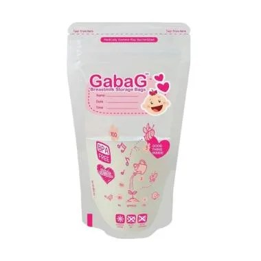 Gabag Breast Milk Bag Kantong ASI Girl - Pink [100 mL]