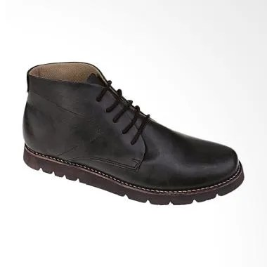 Recommended 229 Sepatu Boots Safety Pria - Hitam