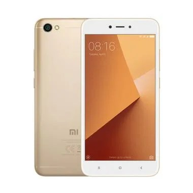 Xiaomi Redmi Note 5A Smartphone - Gold [16GB/2GB/Resmi TAM]