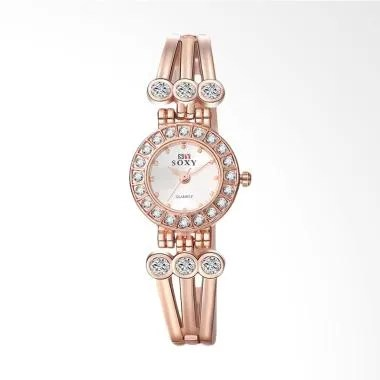SOXY SOXY0016Z Top Luxury Ladies Wa ... Tangan Wanita - Rose Gold