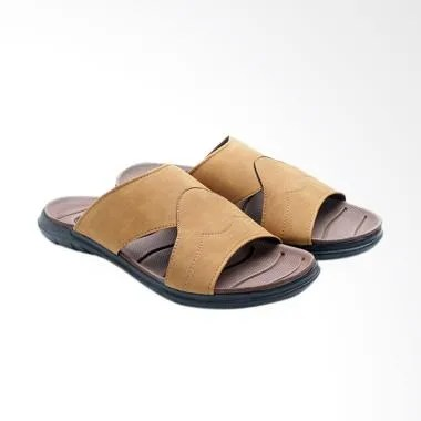 Dr.Kevin Leather Man Sandals - Tan [17202]