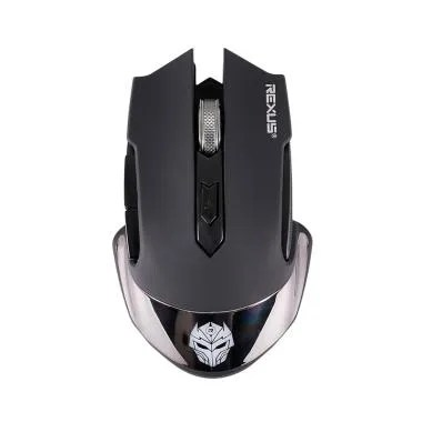 Rexus RX-108 Mouse Gaming Wireless Rechargerable - Hitam