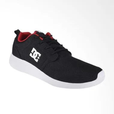 DC Midway M Shoe Sepatu Sneakers Pr ... hletic Red ADYS700097-BAH