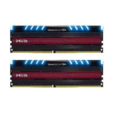 Team Delta PC2400 DDR4 Memory RAM - Biru [16GB/8GB X 2]