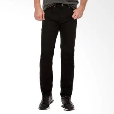 Levi's Regular Taper Jeans Celana P ... ne Black [29507-0031 502]