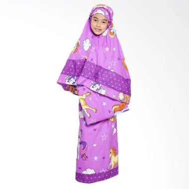 Zahra Kids Little Pony Star Mukena Anak - Purple