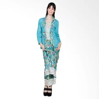 Jogja Batik Rosa Setelan Kebaya RnB Batik - Hijau