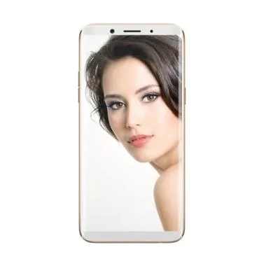 Oppo F5 Smartphone - Gold [32GB/4GB/Garansi Resmi]