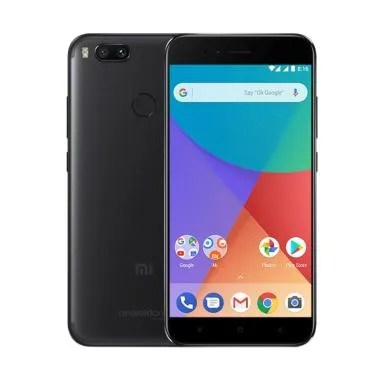 Xiaomi Mi A1 Smartphone - Black Resmi Tam [64 GB/ 4 GB]