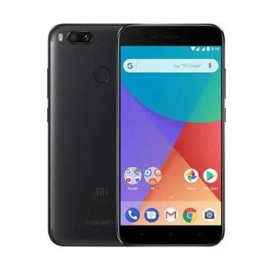 Xiaomi Mi A1 Android One 4/32 - Black Garansi Resmi TAM Free Bonus