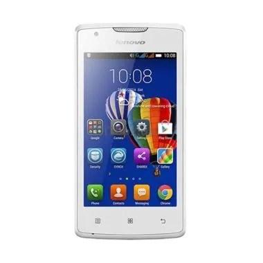 Lenovo Vibe A Smartphone - Putih [4GB/512MB]