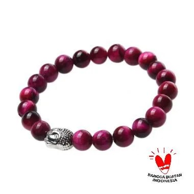 Triartspace Beads Gelang - Purple