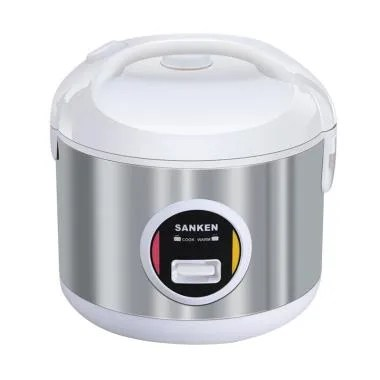 Sanken SJ-3030WH Rice Cooker - White [2L]