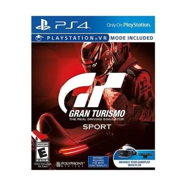 SONY PS4 Gran Turismo Sport DVD Game