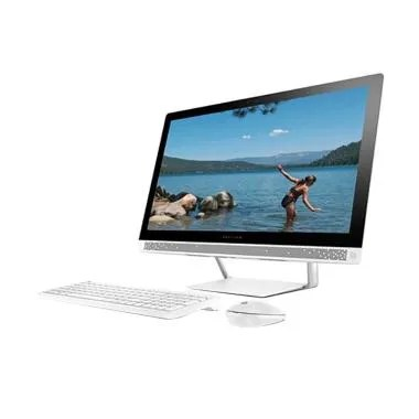HP PC All In One 24-R012D - White [ ... Inch Touchscreen/Windows]
