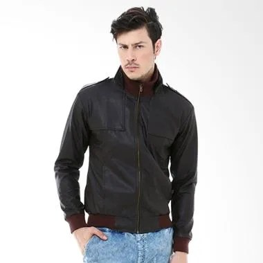 Alphawea Leather Exclusive Style Jacket Pia - Brown