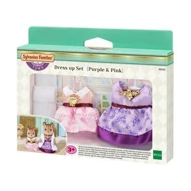 Sylvanian Families Town Dress Up Set - Purple Pink