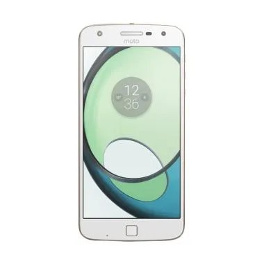 Moto Z Play Smartphone - White [32GB/ RAM 3GB]