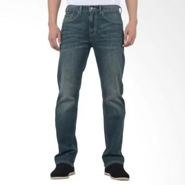 Levi's Regular Fit Celana Jeans Pri ... wilight [00505-0277- 505]