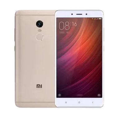 Xiaomi Redmi Note 4 Smartphone - Gold [32GB/ 3GB]