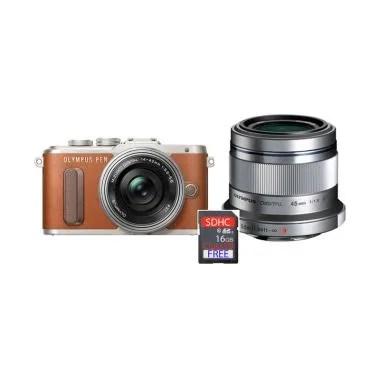 Olympus PEN E-PL 8 KIT 14-42mm EZ + ...  - Brown + Free SDHC 16GB