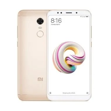 Xiaomi Redmi 5 Plus Smartphone - Gold [32GB/ 3GB]