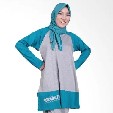 Nafisa Production Commitment Baju Wanita Muslim - Turkis