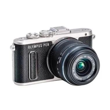 Olympus PEN E-PL8 Kit 14-42mm Kamera Mirrorless - Hitam