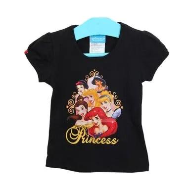 Millenia PCT 03 Princess Series Kaos Anak Perempuan - Black