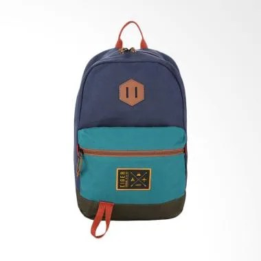 Eiger Tribune Small Backpack Tas Ransel Pria - Navy [1989/12 L]