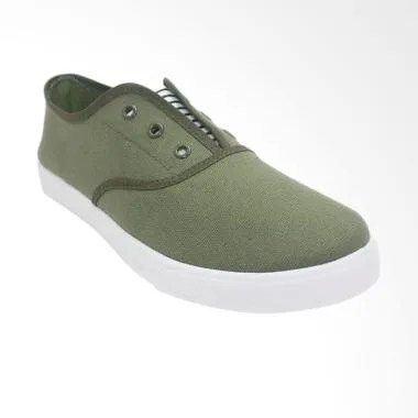 Dr.Kevin Soft & Comfortable Sepatu Slip On Pria - Green [9313]