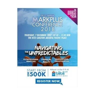 Jual The 12th Annual MarkPlus Conference 2018 Reguler E ...