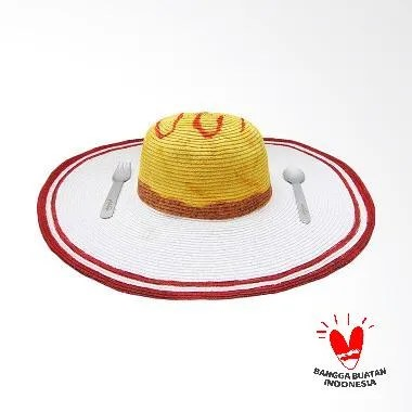 Philotopi Omurice Summer Hat - Red