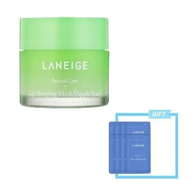 Laneige Apple Lime Lip Sleeping Mask Set
