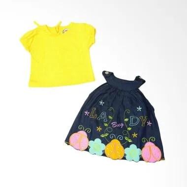 Adore Lady Bug Dress Bayi Kuning    ...
