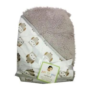 Carter's 10 Double Fleece Hoodie Selimut Bayi