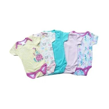 Chloe Babyshop Turtle F881 Jumper - Multi Colour [5 pcs]