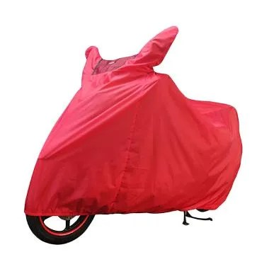 Weekend Deal - Cover Super Cover Motor Merah [Large]